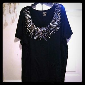 Beautiful Sequin Top sz 26/28